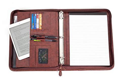 professional business padfolio portfolio briefcase style