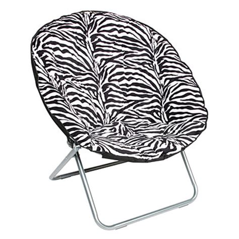 Oversized Saucer Chair Zebra Print zebra oversized saucer chair