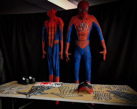 diy  replica spider man  suit kit  limit designs