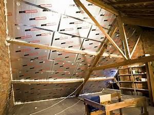 Plaque Isolante Polyuréthane : panneau d 39 isolation toiture et combles sarking snpu ~ Edinachiropracticcenter.com Idées de Décoration