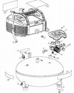 Dewalt Model C2002 Type 9 Air Compressor Genuine Parts