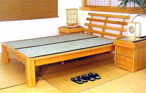 sunset platform bed  headboard tatami mats night