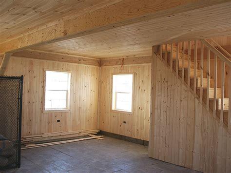 custom built barn finished interior