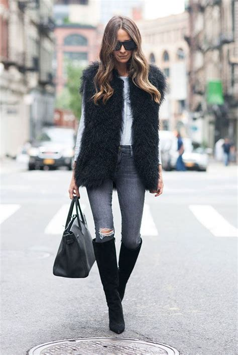 Casual Winter Night Out Outfit