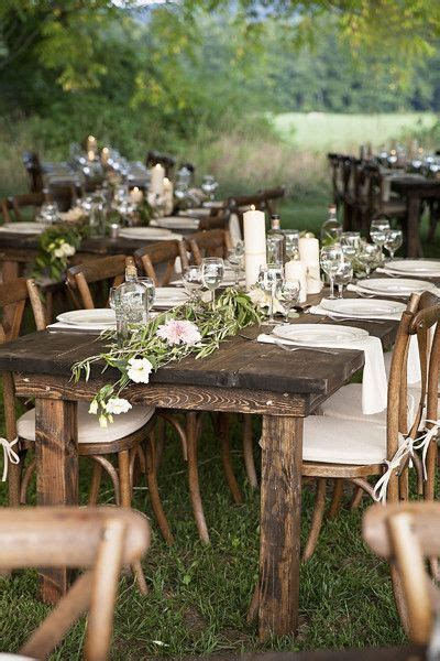 rustic table linens for weddings receptions runners and white linens on pinterest