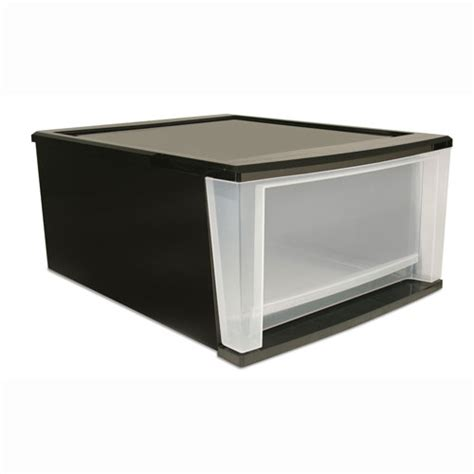 stackable storage drawers stackable plastic storage drawers black in storage drawers
