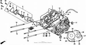 Crankcase For 1991 Honda Z50
