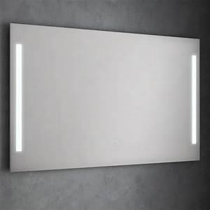 Miroir Lumineux Led : miroir lumineux salle de bain 120 150cm idled ~ Edinachiropracticcenter.com Idées de Décoration