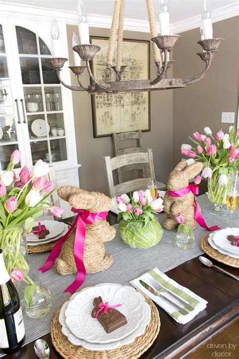 Decorating Ideas For Easter by 45 Creative And Easy Easter Table Decoration Ideas