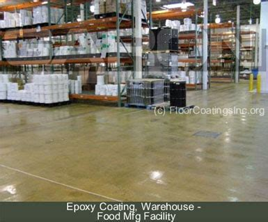 Visiting a warehouse flooring installation for comparison