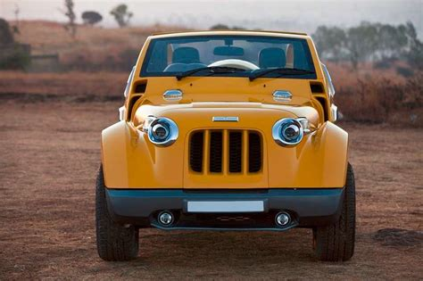 dilip chhabria modified jeep dc design s modified mahindra thar image gallery