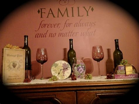 wine themed dining room home decor kitchen decor