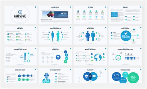 Awesome Free Ppt Templates Awesome Ppt Templates Ppt Template Tomium Free