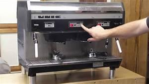 Unic Xi Espresso Machine Demo