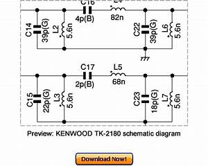 Kenwood Tk-2180 Service Repair Manual Download