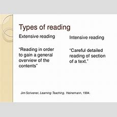 Reading Comprehension, Strategies And Activities