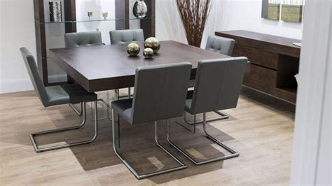 furniture eugene brown modern dining chairs set of