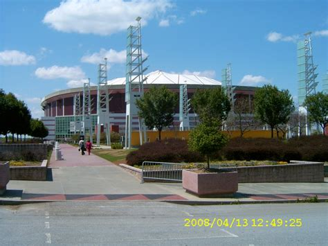 Centennial Parking Deck At Philips Arena by Philips Arena Thrashers Mapio Net
