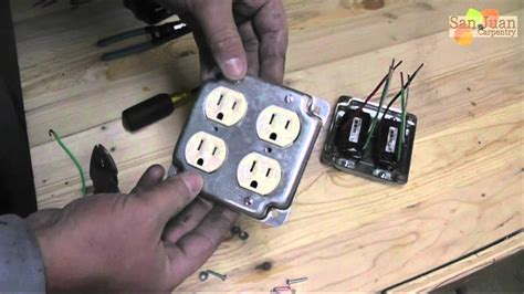 outlet receptacle wire    youtube