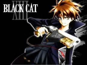anime black cat black cat