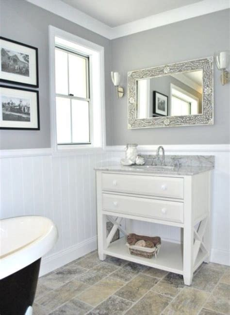 Cool Colors For Bathrooms by Loving The Grey Paintwork Contrasted With The Tung And