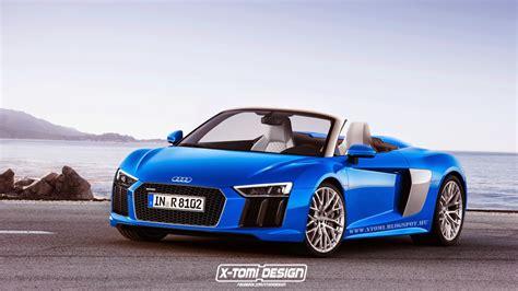 Audi R8 Spyder by Upcoming Second Audi R8 Spyder Imagined Gtspirit