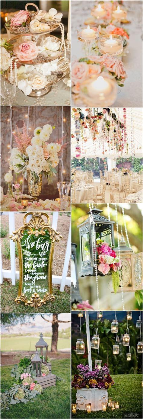 36 shabby chic vintage wedding ideas deer pearl flowers
