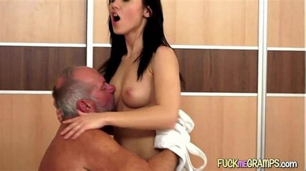 #Young #Babe #Sucks #Old #Guy