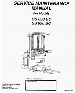 Yale Order Selector Os030bc  Ss030bc Workshop Service