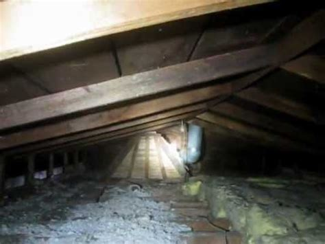 asbestos attic insulation youtube