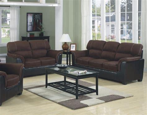 two sofa living room brand new microfiber two tone sofa loveseat 2pc sofa set