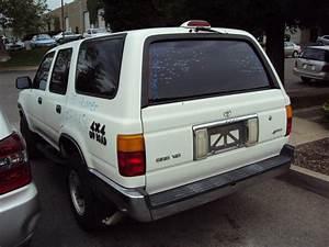 1995 Toyota 4runner Sr5 Model 3 0l V6 At 4x4 Color White