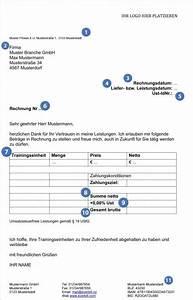Umsatzsteuer Kleinunternehmer Rechnung : wie schreibe ich eine rechnung richtig everbill magazin ~ Themetempest.com Abrechnung