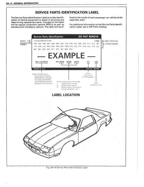 auto manual repair 1984 pontiac firefly electronic throttle control 1987 pontiac firebird service repair manual