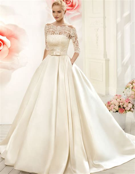 simple satin simple wedding gown designs wedding