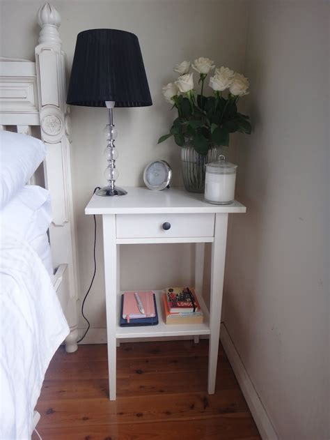 Ikea Bedroom Table by Hemnes Nightstand White Stain Bedroom Ideas Bedroom