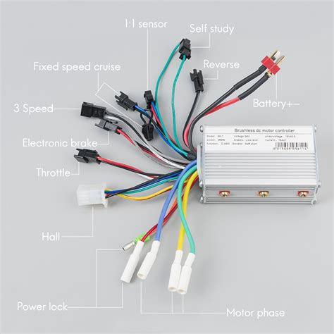 electric bicycle bldc motor brushless speed controller 250w 350w 24v 36v 48v dc with e