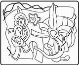 Polychrome Sculpture Coloring Riani Richard sketch template