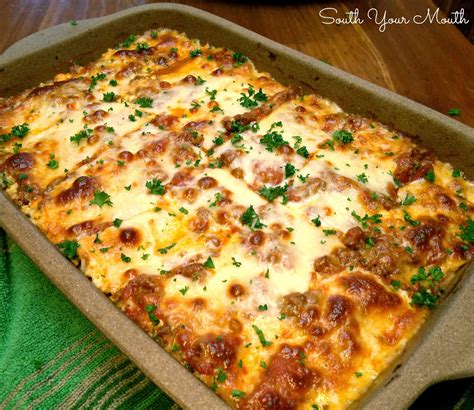 South Your Mouth Classic Lasagna