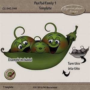 Sugarbutt Artistic Designs  New Pea Pod Family Template Now In Stores