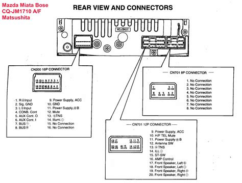 2008 Ford E150 Stereo Wiring Color Code by Mazda Car Radio Stereo Audio Wiring Diagram Autoradio