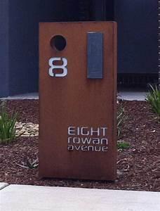 bullyfox letterbox narrow po box designs With designer letter box