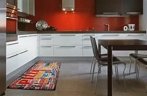 pour une cuisine pratique et stylee blog webtapis With tapis pour cuisine lavable