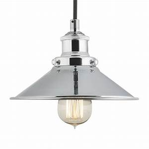 Pendant lamp one light fixture with metal shade fabric