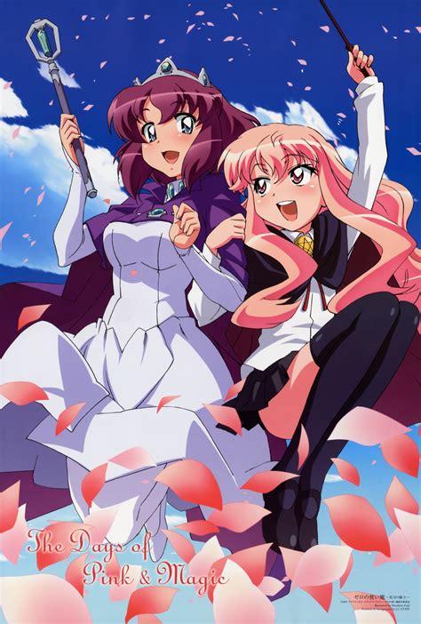 zero tsukaima henrietta louise anime familiar tristain re ecchi blanc yande le magia manga valliere dress seifuku staff character magic