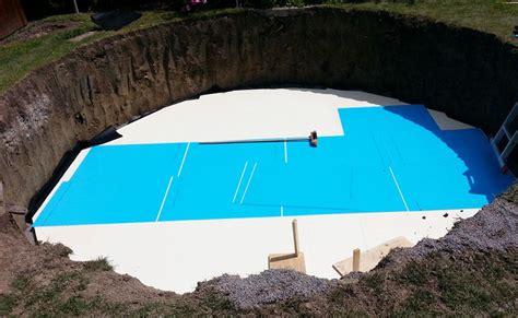 pool untergrund platten conzero poolsystem ohne beton