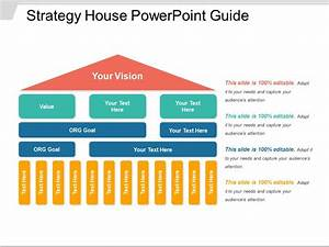 Strategy house powerpoint guide templates powerpoint for Strategy house template