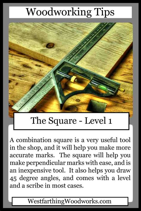 woodworking tips cards  square westfarthing woodworks