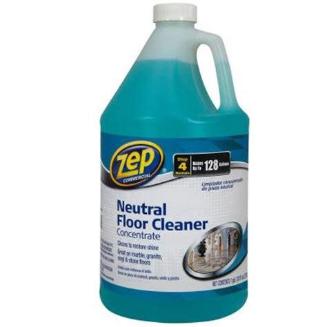 Zep Floor Application by Zep 128 Oz Neutral Floor Cleaner Of 4 Zuneut128