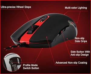 MSI Interceptor DS100 Gaming Mouse End 9142020 431 PM